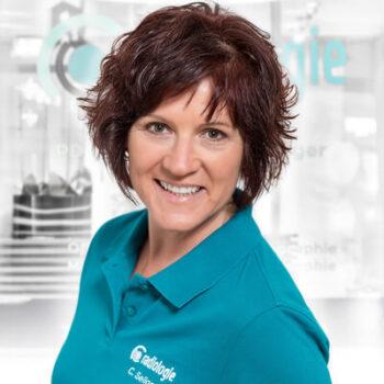 Cornelia Seliger im Team der Praxis für Radiologie in Gießen