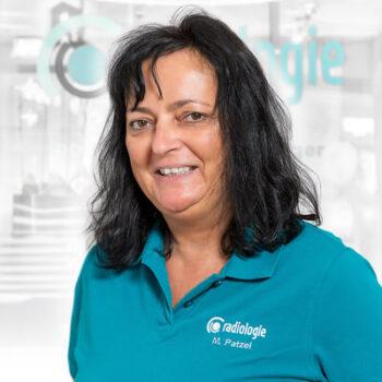 Frau Patzel kümmert sich um den reibungslosen Ablauf in der Radiologischen Praxis in Gießen